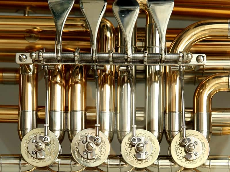 Close up picture of Trumpet