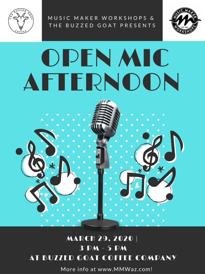 open mic afternoon