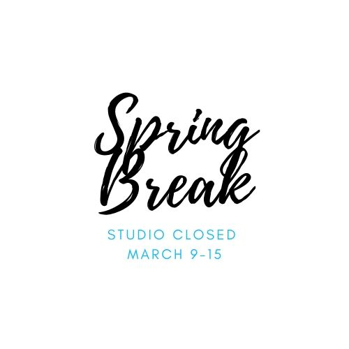 Spring Break Closed
