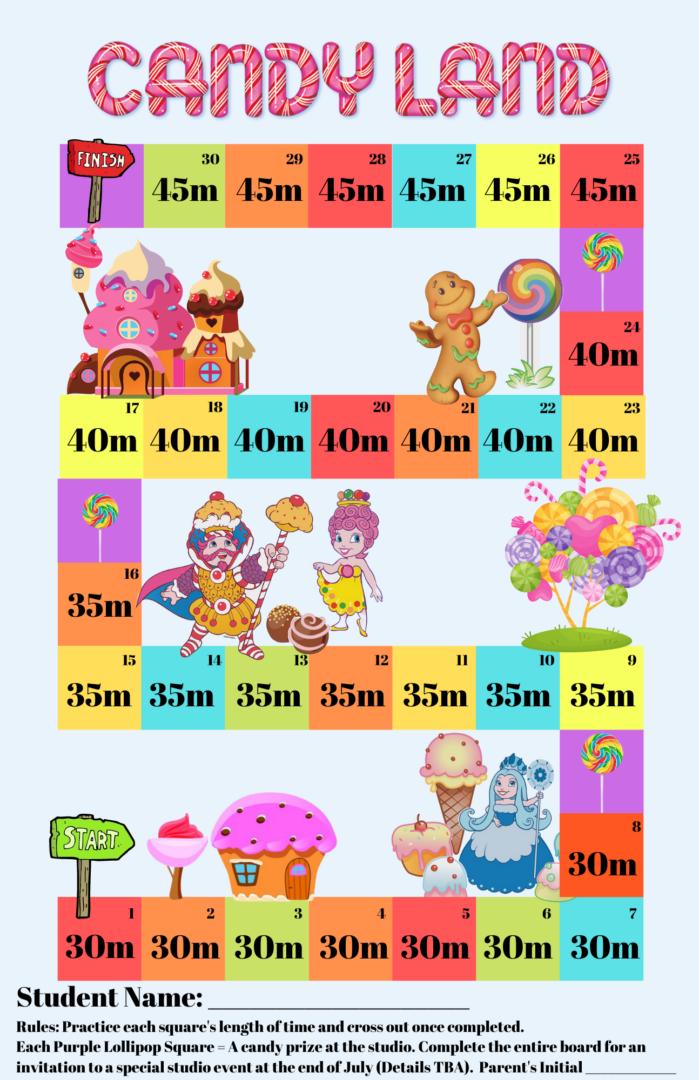 Candyland Incentive - Beginner